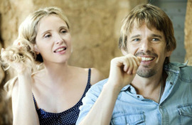 Julie Delpy and Ethan Hawke in Before Midnight