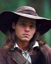 Justin Chambers in The Musketeer