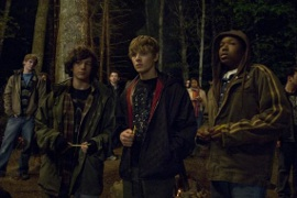 John Magaro, Max Thieriot, and Denzel Whitaker in My Soul to Take