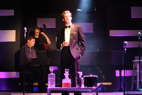 Matt Bean, James Shemwell, and Jonathan Young in My Way: A Musical Tribute to Frank Sinatra