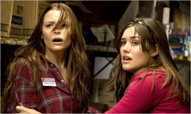 Jaime King and Megan Boone in My Bloody Valentine 3-D