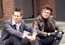 Kevin Bacon and Sean Penn in Mystic River