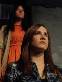 Sara King and Kelly Lohrenz in Next to Normal