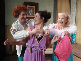 Nancy Evans, Adelina Feldman-Schultz, and Sherry Konjura in Nana's Naughty Knickers