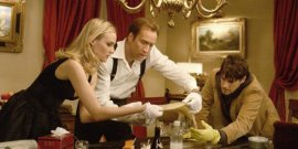 Diane Kruger, Nicolas Cage, and Justin Bartha in National Treasure