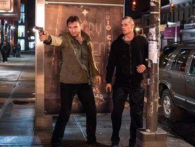Liam Neeson and Joel Kinnaman in Run All Night