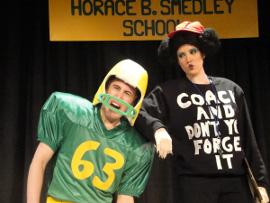 Bret Churchill and Liz J. Millea in Miss Nelson Has a Field Day