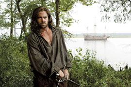 Colin Farrell in The New World