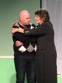 David Turley and Susan Perrin-Sallak in Next Fall