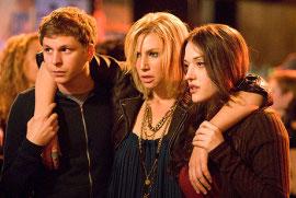 Michael Cera, Ari Graynor, and Kat Dennings in Nick & Norah's Ultimate Playlist