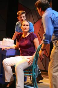 Christian Chambers, Daniella Dalli, and Aaron Brakefield in Next to Normal