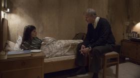 Charlotte Gainsbourg and Stellan Skarsgard in Nymphomaniac: Volume One