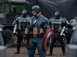 Chris Evans in Captain America: The First Avenger