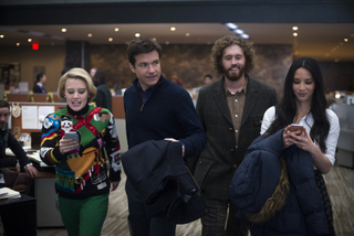 Kate McKinnon, Jason Bateman, T.J. Miller, and Olivia Munn in Office Christmas Party