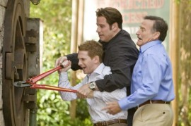 Seth Green, John Travolta, and Robin Williams in Old Dogs