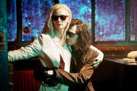 Tilda Swinton and Tom Hiddleston in Only Lovers Left Alive