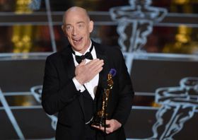 Best Supporting Actor J.K. Simmons