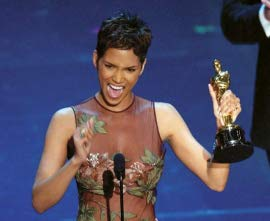 Best Actress Halle Berry, for Monster's Ball