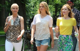 Cameron Diaz, Kate Upton, and Leslie Mann in The Other Woman