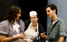 Kat Martin, Jacquelyn Schmidt, and William Cahill in Our Town