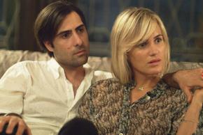 Jason Schwartzman and Judith Godrèche in The Overnight