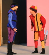 Neil Friberg and Kevin Wender in The Comedy of Errors