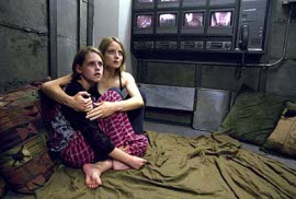 Kristen Stewart and Jodie Foster in Panic Room