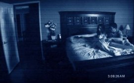 Katie Featherston and Micah Sloat in Paranormal Activity