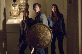Brandon T. Jackson, Logan Lerman, and Alexandra Daddario in Percy Jackson & the Olympians: The Lightning Thief