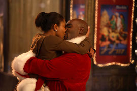 Gabrielle Union and Morris Chestnut in The Perfect Holiday