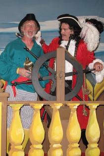 Mike Millar and Tom Naab in Peter Pan