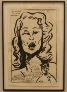 Raymond Pettibon, 'No title (He allowed her)'
