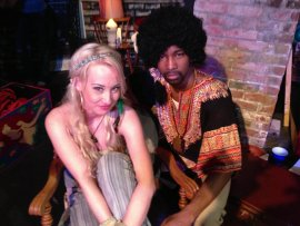 Nina Schreckengost and Kiarri Andrews in Hair