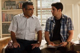 Eugene Levy and Jason Biggs in American Reunion