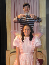 James Bleecker and Kelly Anna Lohrenz in Pinkalicious