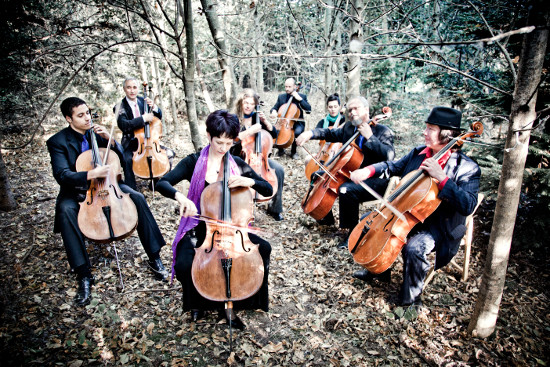 The Portland Cello Project. Photo by Tarina Westlund.