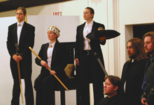 "The Prenzie Players in ""King Richard the Second"""