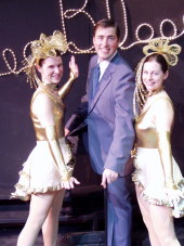 Michelle Steen, Nathan Bates, and Tami Parchert in The Producers