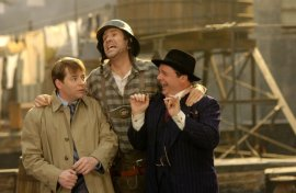 Matthew Broderick, Will Ferrell, and Nathan Lane in The Producers