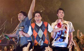 Jonathan Daniel Brown, Oliver Cooper, and Thomas Mann in Project X