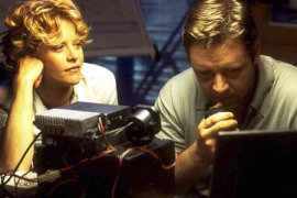 Meg Ryan and Russell Crowe in Proof of Life