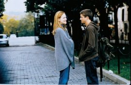 Laura Linney and Topher Grace in P.S.