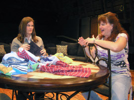 Jessica Nicol and Denise Yoder in Rabbit Hole