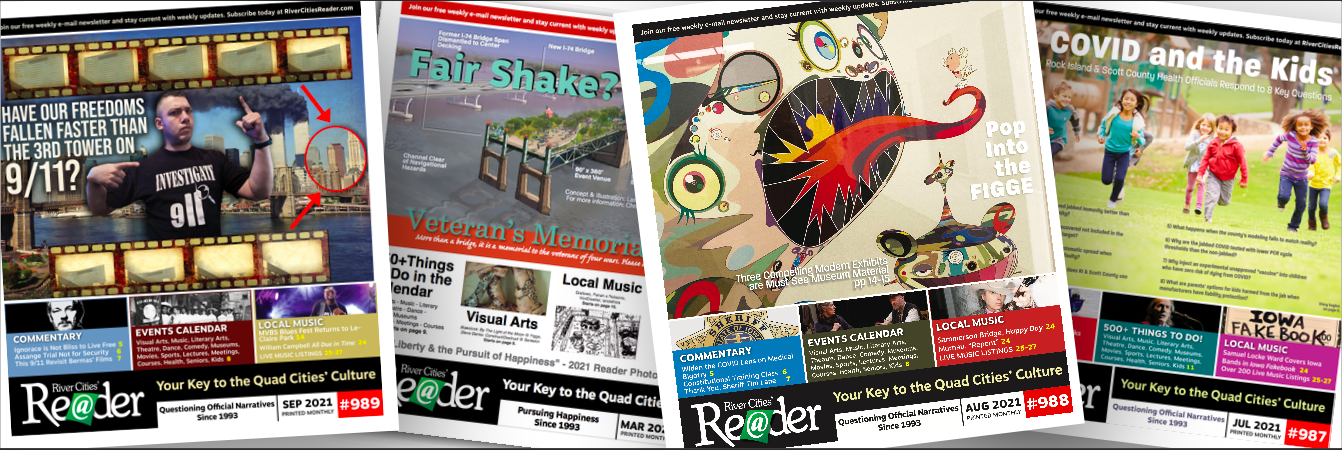 Get 12 Reader issues mailed monthly for $48/year.