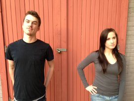 Chris Causer and Kelly Lohrenz in reasons to be pretty