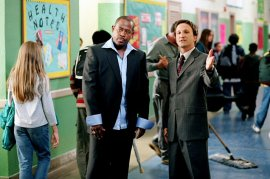 Martin Lawrence and Breckin Meyer in Rebound