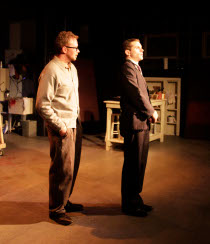 Mike Schulz and Thomas Alan Taylor in Red
