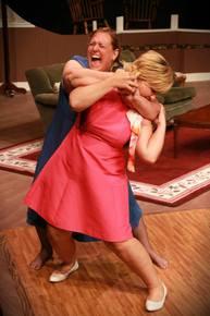 Lisa Kahn and Sondra Karben in The Red Velvet Cake War