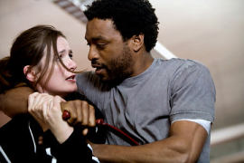 Emily Mortimer and Chiwetel Ejiofor in Redbelt
