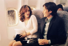 Rachel McAdams and Cillian Murphy in Red Eye